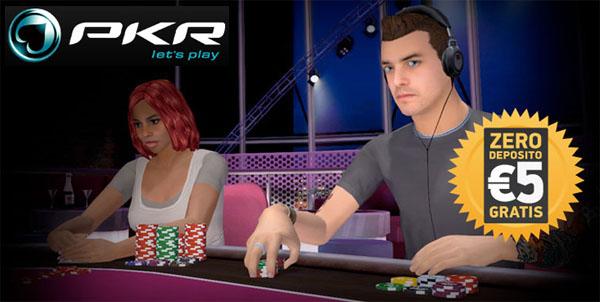Scopri il gioco in 3D solo su PKR Poker