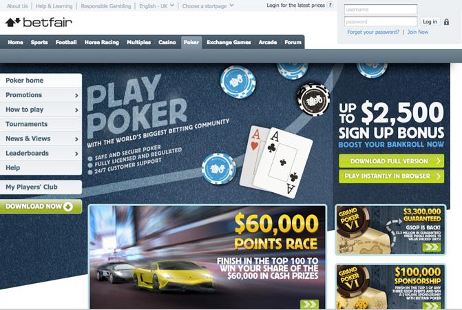 Arriva anche tu al top grazie a Betfair Poker