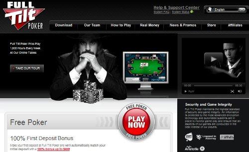 Full Tilt Poker, la sala dei campioni