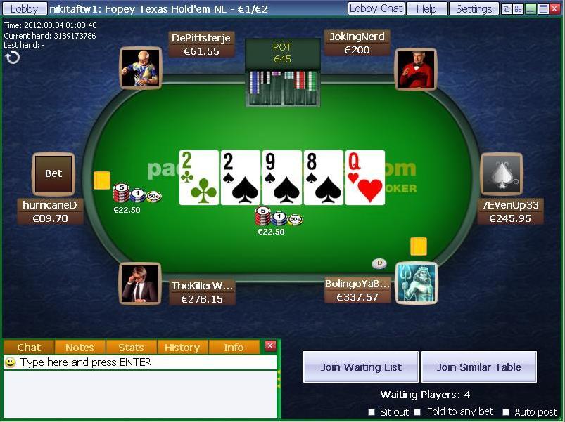 Paddy Power Poker, l'esperienza a servizio del Poker
