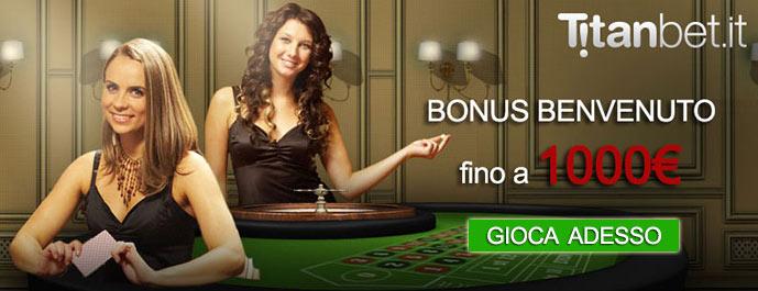 Recensione del casino Titanbet: 10€ gratis + 1000€ di bonus