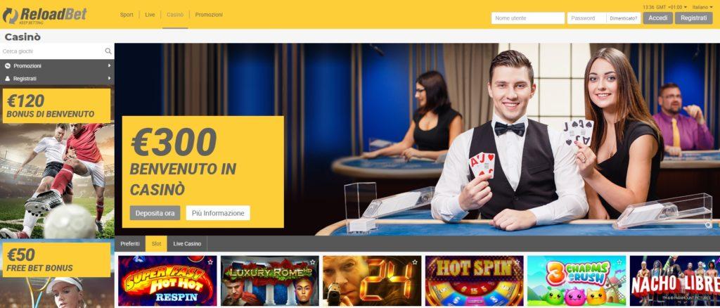 Casinò online, ecco il sito per giocare con slot e poker