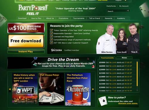 Scopri il mondo di Party Poker