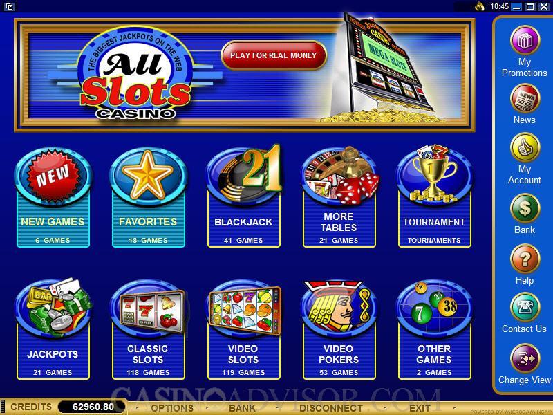 All Slots Casinò, una sala da gioco da provare