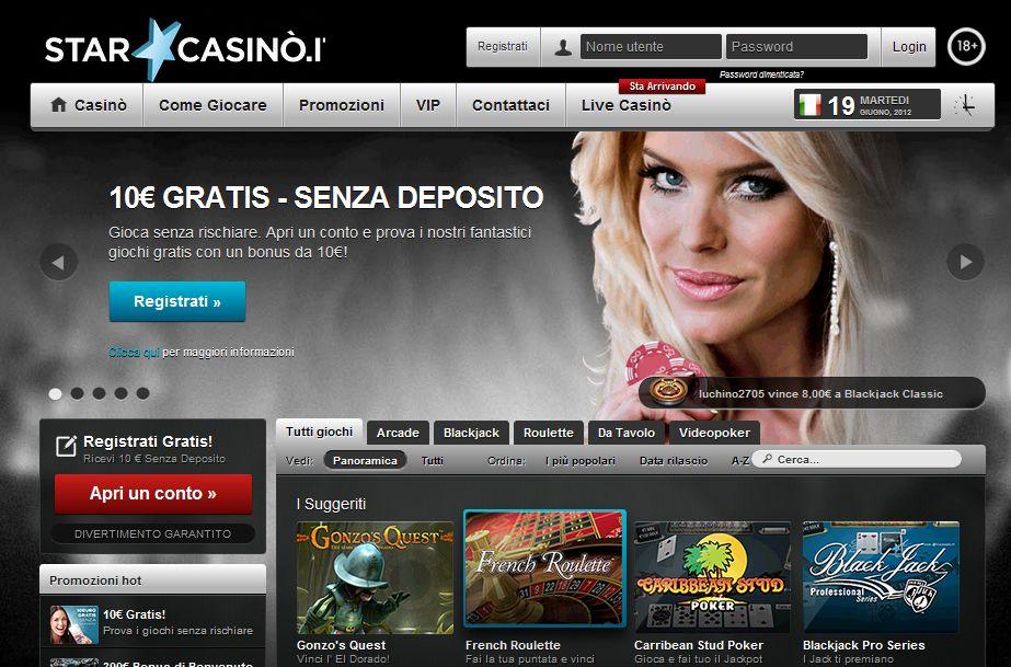 Scopri anche tu il nuovo servizio di Star Casinò.it